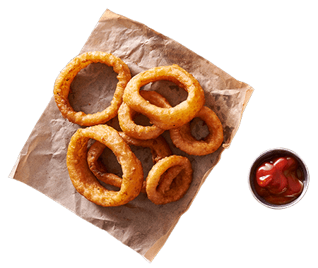 Chicago Street Pub, Grill & Banquets in De Pere WI Onion Rings with Ketchup